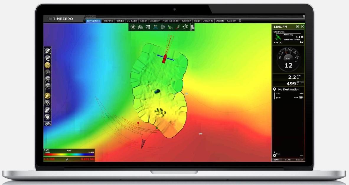 Официальный запуск новой версии Timezero Professional v4 novosti термоклин температура рыбопоиск альтиметрия TZ TIMEZERO MaxSea