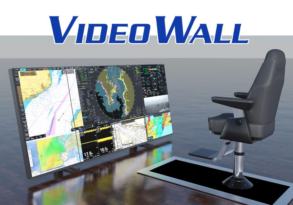 Представляем Вашему вниманию видеопанель VideoWall FURUNO novosti траулер рыбопоиск новости навигация видеостена видеопанель видеокуб videowall furuno