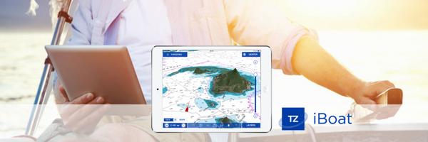 TZ iBoat приложение TimeZero для iPad novosti РЛС Furuno DRS4W TZ TIMEZERO iBoat DRS4W